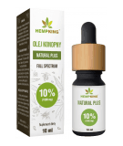 HEMP KING Olej Konopny Natural Plus 10% 10 ml