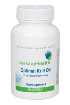 Optimal Krill Oil od Seeking Health to najwyzszej jakości olej z kryla od renomowanej amerykańskiej firmy