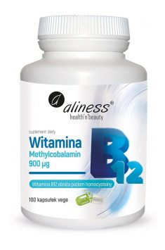 Witamina B12 Methylcobalamin 900mcg