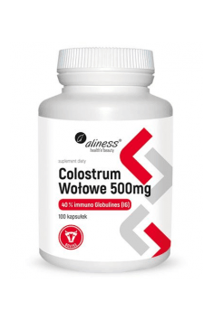 Colostrum Wołowe 500mg