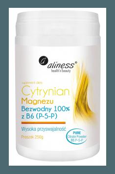 Cytrynian Magnezu Bezwodny z B6