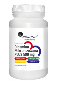 Diosmina Mikronizowana PLUS 500mg