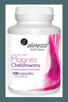 Magnez Chelatowany + Wit. B6