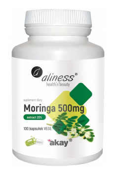 Moringa ekstrakt 20% 500mg