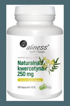 Naturalna kwercetyna 250mg