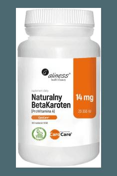 Naturalny BetaKaroten 14mg