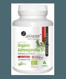ALINESS Organic Ashwagandha 5% 100 kaps.