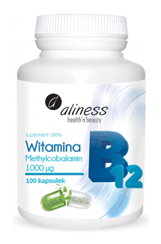 Witamina B12 Methylcobalamin 1000mcg