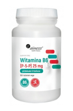 Witamina B6 (P-5-P) 25mg