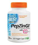 DOCTOR'S BEST PepZinGI (Zinc L-Carnosine Complex) 120 kaps.