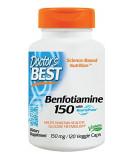 DOCTOR'S BEST Benfotiamine 150mg 120 kaps.
