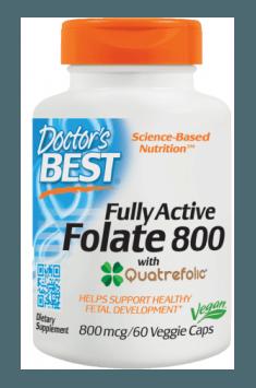 Fully Active Folate 800mcg