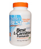 DOCTOR'S BEST L-Carnitine Fumarate 855mg 180 kaps.