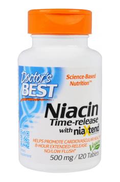 Time-Release Niacin 500mg