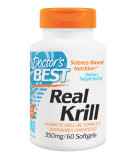 DOCTOR'S BEST Real Krill 350mg 60 kaps.
