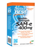 DOCTOR'S BEST Double Strength SAMe 400mg 60 tab.
