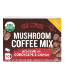 FOUR SIGMATIC Mushroom Coffee Mix with Cordyceps & Chaga 10 sasz.