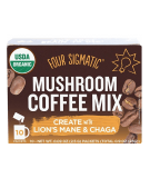 FOUR SIGMATIC Mushroom Coffee Mix with Lion's Mane & Chaga 10 sasz.