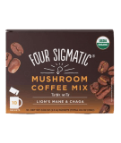 FOUR SIGMATIC Mushroom Coffee Mix with Lion's Mane & Chaga 10 sasz.