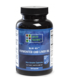 GREEN PASTURE Fermented COD Liver Oil 120 kaps.