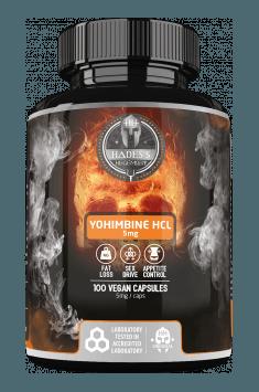 Yohimbine HCL 5.0mg