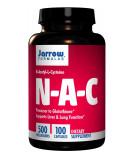 JARROW N-A-C (N-Acetyl-L-Cysteine) 500mg 100 kaps.