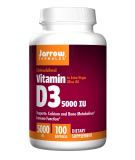 JARROW Vitamin D3 5000IU 100 softgels