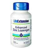 LIFE EXTENSION Enhanced Zinc Lozenges 30 tab.