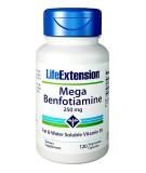 LIFE EXTENSION Mega Benfotiamine 250mg 120 kaps.