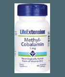 LIFE EXTENSION Methylcobalamin 1mg 60 tab.