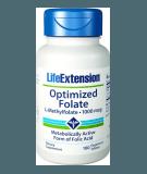 LIFE EXTENSION Optimized Folate 1000mcg 100 tab.
