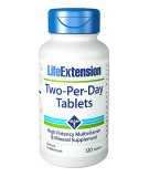LIFE EXTENSION Two-Per-Day Tablets 120 tab.