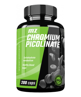 MZ-STORE Chromium Picolinate 200 kaps.