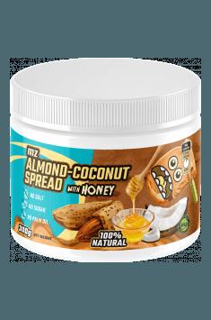 Krem migdałowo-kokosowy z miodem