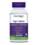 NATROL High Caffeine 200mg 100 tab.