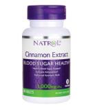 NATROL Cinnamon Extract 1000mg 80 tab.
