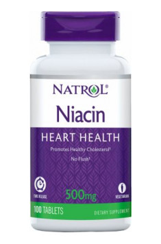 Niacin Time Release 500mg