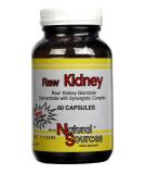 NATURAL SOURCES Raw Kidney 60 kaps.