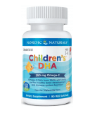 NORDIC NATURALS Children's DHA 250mg 90 softgels