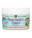 NORDIC NATURALS Nordic Omega-3 Gummies 60 żelek
