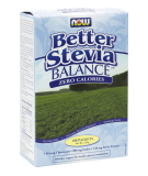 NOW FOODS Better Stevia Balance + Chromium & Inulin 110g (100 sasz.)