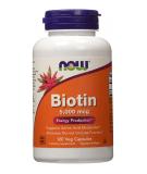 NOW FOODS Biotin 5000mcg 120 kaps.