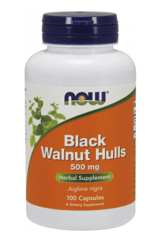 Black Walnut Hulls 500mg