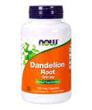 NOW FOODS Dandelion Root 500 mg 100 kaps.