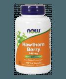 NOW FOODS Hawthorn Berry 540mg 100 kaps.