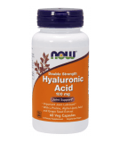 NOW FOODS Hyaluronic Acid Double Strength 100mg 60 kaps.