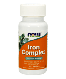 NOW FOODS Iron Complex 100 tab.