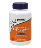 NOW FOODS L-Theanine 200mg 120 kaps.