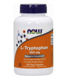 NOW FOODS L-Tryptophan 500mg 120 kaps.