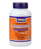 NOW FOODS L-Tryptophan 1000mg 60 tab.